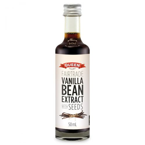 Fairtrade Vanilla Extract with Seeds 50ml