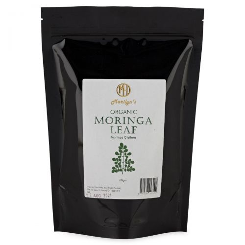 Organic Moringa Leaf 80g
