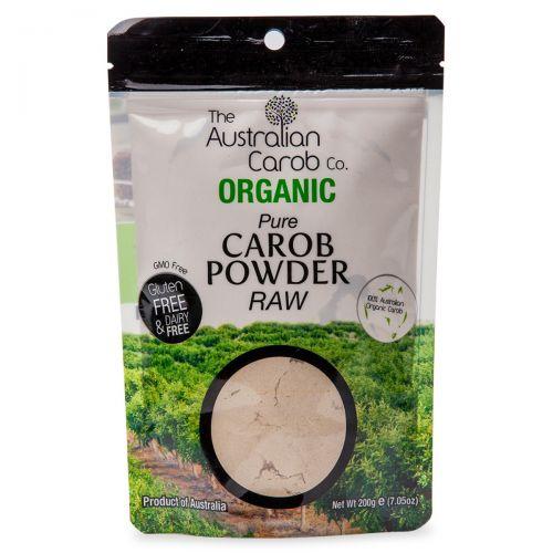 Organic Carob Powder Raw 200g