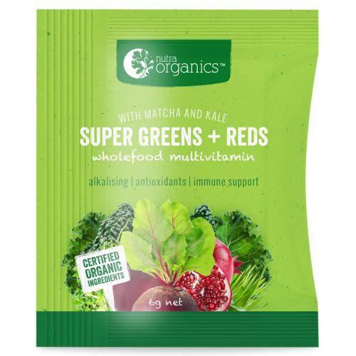 Super Greens & Reds Sachet Box (14)