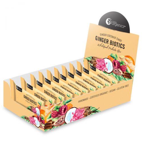Ginger Biotics Bar 12 x 45g