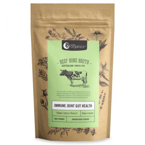 Beef Bone Broth Powder - Garden Herb