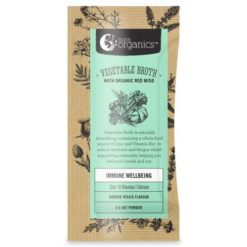 Vegetable Broth Powder - Original 6g Sachet Box
