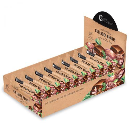 Collagen Beauty Cacao Mac Bars 16 x 30g