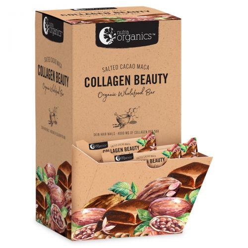 Collagen Beauty Cacao Mac Bars 30 x 30g