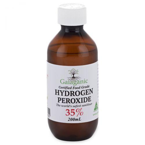 Hydrogen Peroxide Food Grade 35% 200ml