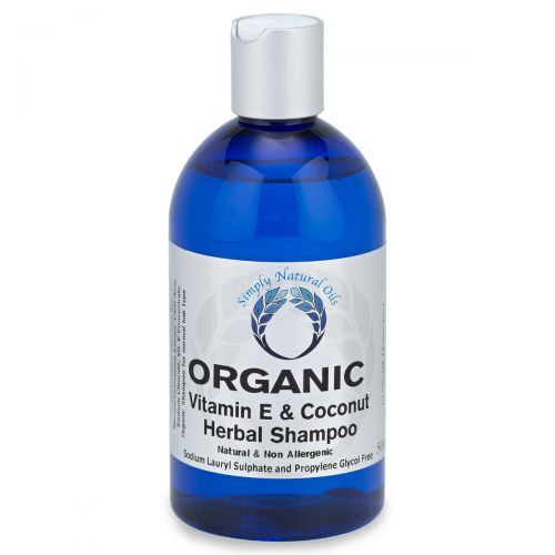 Organic Vitamin E & Coconut Herbal Shampoo 500ml