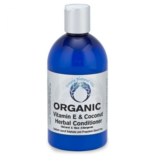 Organic Vitamin E & Coconut Herbal Conditioner 500ml