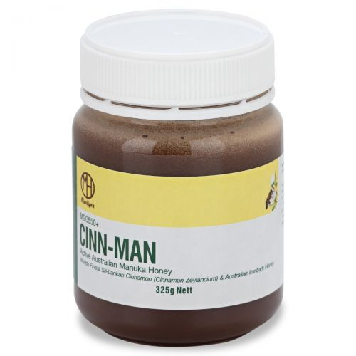 Cinn-man (Genuine Sri Lankan Cinnamon/Manuka Honey Blend) 325g