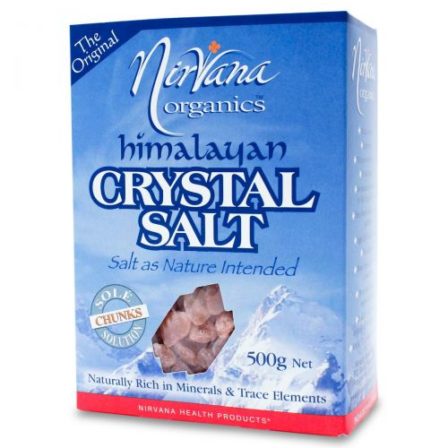 Himalayan Crystal Salt Chunks 500g