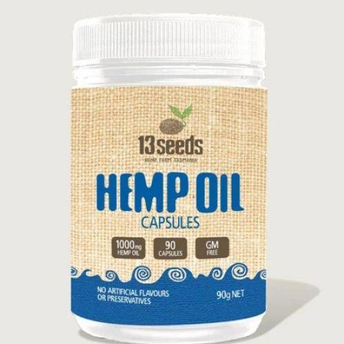 Hemp Oil Capsules 90s