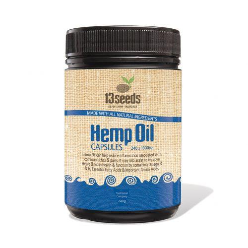 Hemp Oil 1000mg 240 Capsules