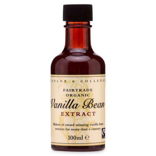 Fairtrade Organic Vanilla Bean Extract 100ml