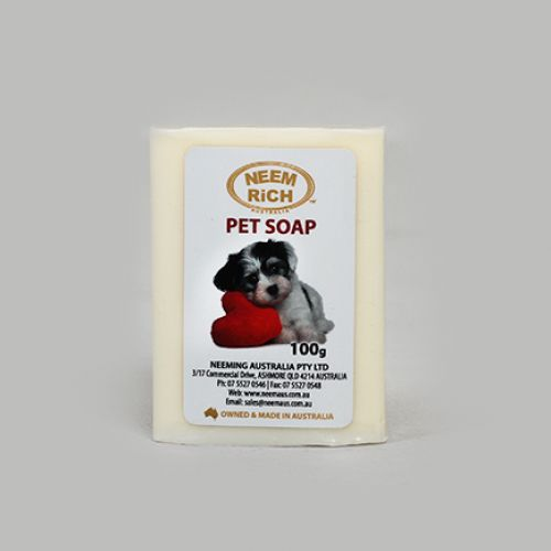 Pet Soap with Neem, Citronella & Tea Tree Oil 100g