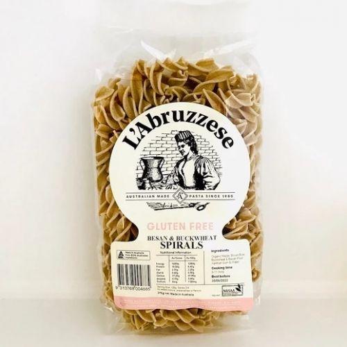 Organic Gluten Free Besan & Buckwheat Spirals 375g